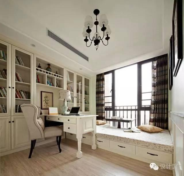 小卧室竟如此实用,榻榻米书房火爆 不是没理由的!