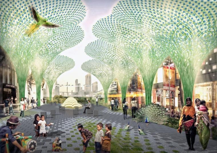 雅加达绿色曼哈顿总体规划-5