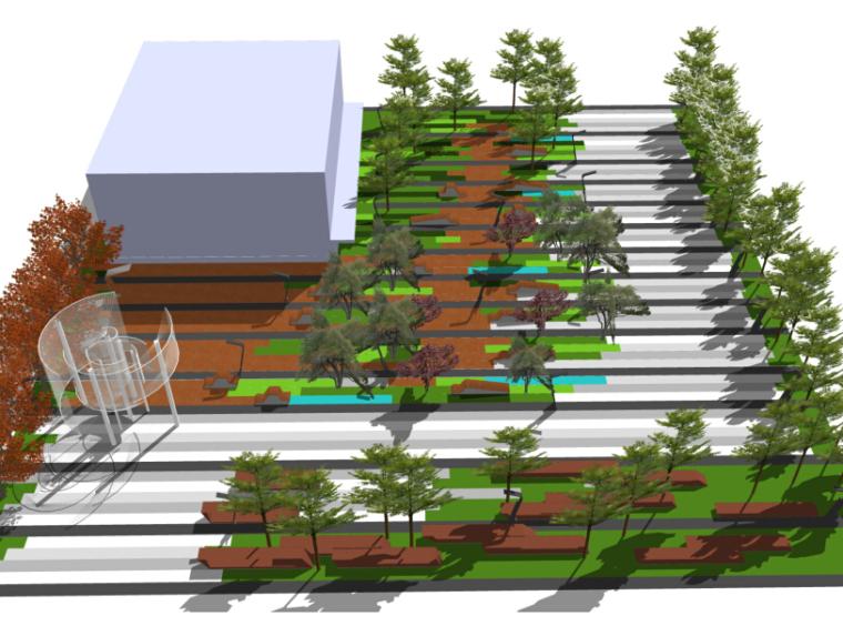 北京高档小区景观设计方案资料下载-[北京]北七家营销体验区景观设计方案(商务)