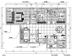 现代简洁风格三居施工图(附效果图)