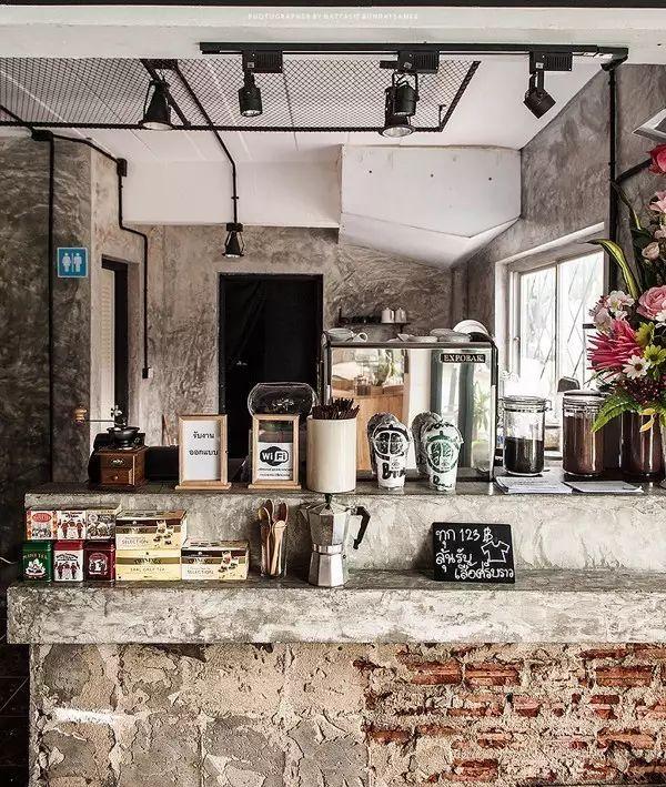 [泰国]咖啡馆室内设计, 感受别样情调