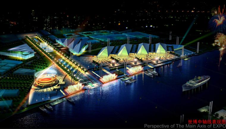上海世博会规划设计方案文本-04效果图