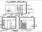 上海礼顿国际公寓B4及B5-1型样板间室内设计施工图
