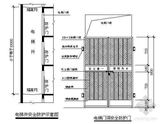 温州某行政楼预防高处坠落事故的安全技术措施