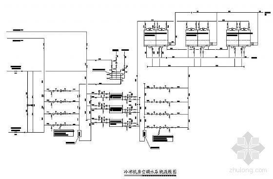 某华侨大厦空调水系统图