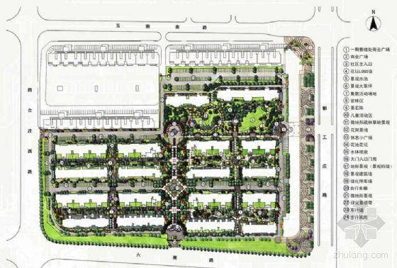 [北京]住宅区环境景观方案设计