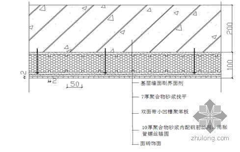 建筑节能(墙体)分项工程施工技术及质量控制要点