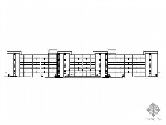[北海]某物流园3栋厂房建筑施工图(含总图)