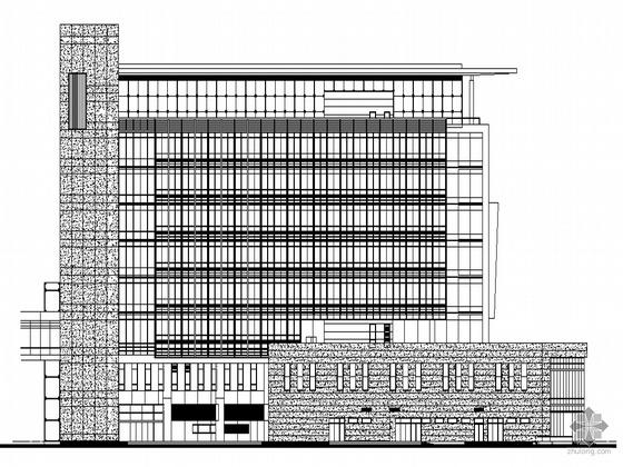 [温州]某电信二十三层综合办公楼建筑施工图(09年设计)
