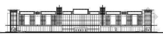 某三层大型超市建筑方案图