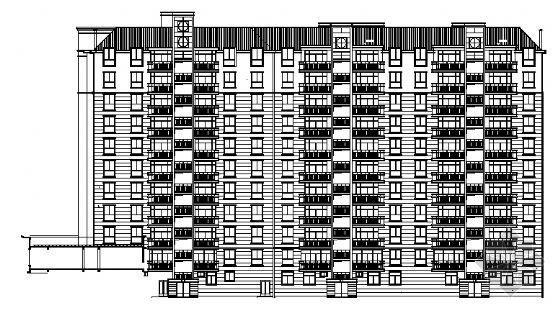 某高层住宅楼建筑施工图