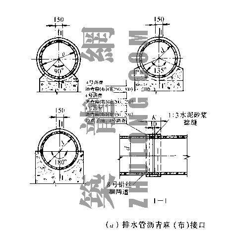 排水工程安装标准图纸