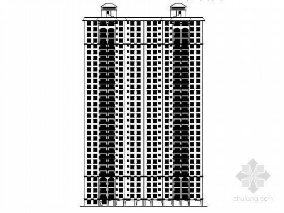[广西]32层现代风格旧房改造住宅楼设计施工图