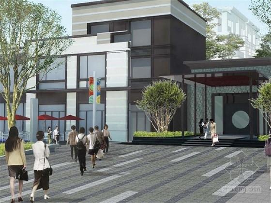 [无锡]高端洋房住宅区景观规划设计方案