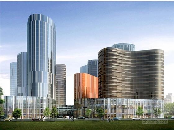 [北京]知名商业步行街规划及建筑设计方案文本(日本知名建筑师)