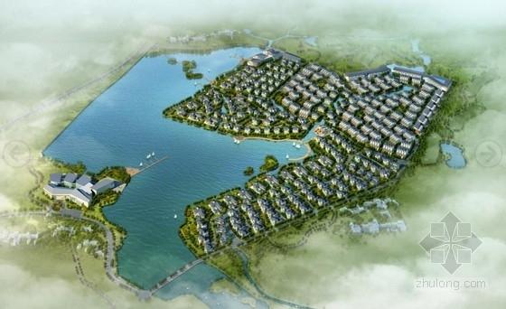 [南京]三层坡屋顶休闲度假山地别墅建筑设计方案文本