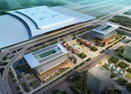 [南京]大型交通枢纽站建筑设计方案文本(知名地产)