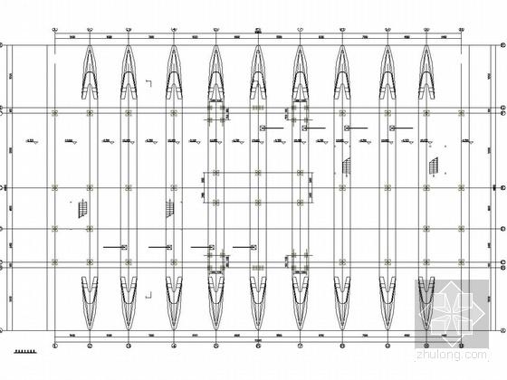 框架结构结构计算书免费资料下载-欧式风格钢框架结构收费站结构图(含计算书181页、建筑图)