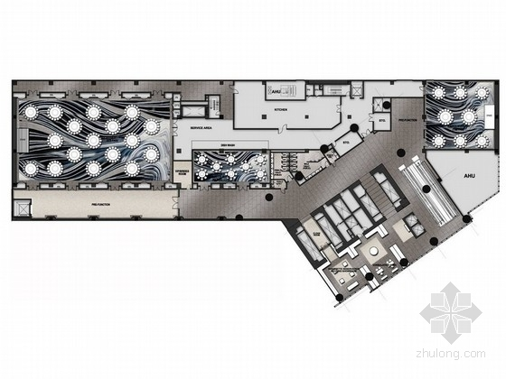 [越南]名师设计繁华地段时尚现代四星级酒店设计方案