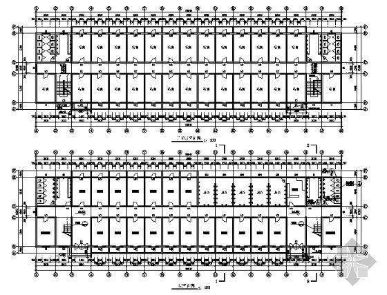 公司宿舍楼建筑施工图-3