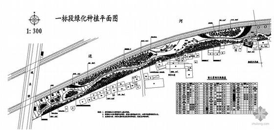 运河公园全套施工图