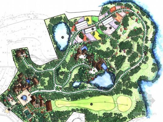 [合肥]农业观光园局部园区景观规划设计方案