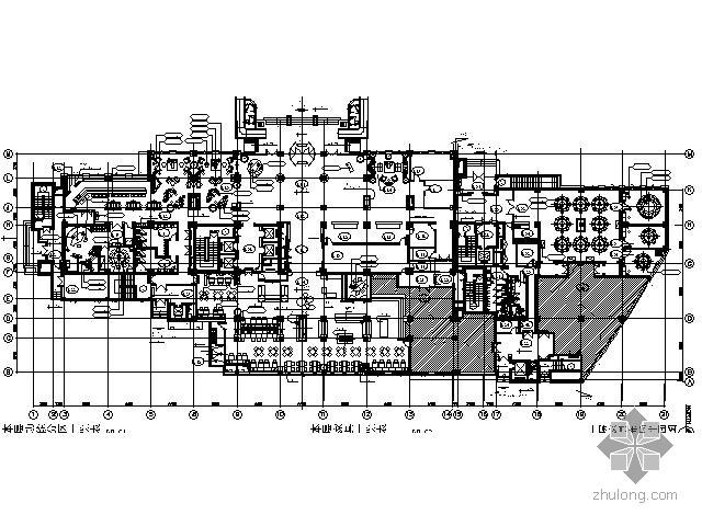 U型景观泳池结构施工图资料下载-[北京]某涉外商务型酒店施工图(含效果)
