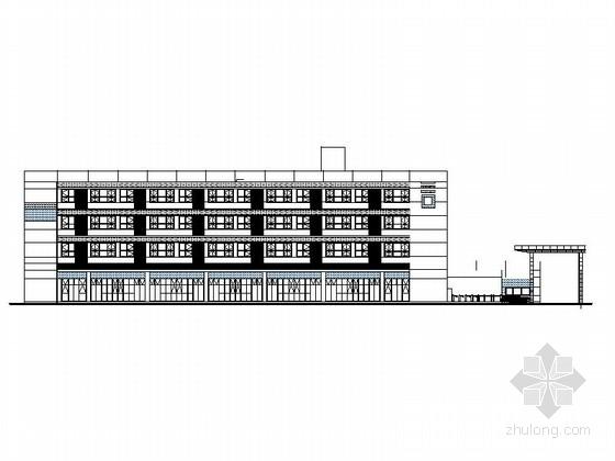 [湖北]物流港多层办公楼建筑施工图