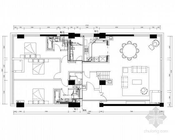 [浙江]多套SOHU风格住宅水电全套施工图(含两层别墅)
