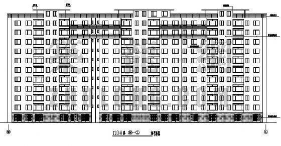 11层框架结构建筑图纸