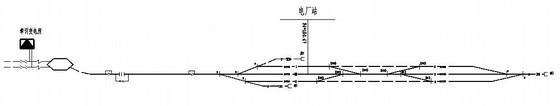 电厂翻车机改造线路工程施工图纸