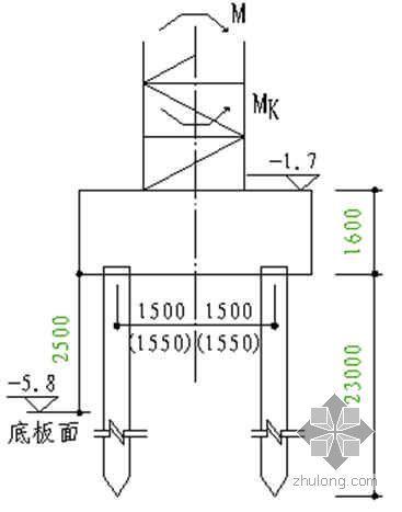 某QTZ150塔吊基础计算(桩基础)