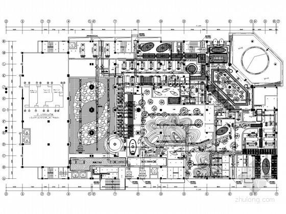 [深圳]豪华商务酒店空调通风设计施工图(详图较多)