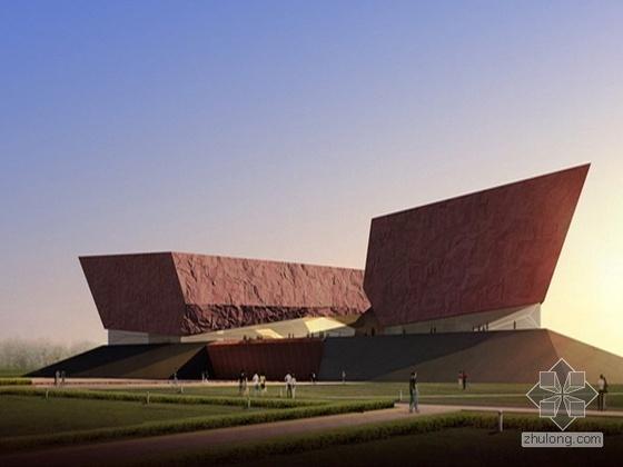 某辛亥革命博物馆及首义南轴线城市设计