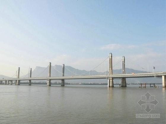 三塔自锚式悬索桥施工图设计184张CAD(知名大院)