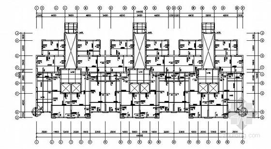18层剪力墙住宅结构施工图(筏板基础 车库)