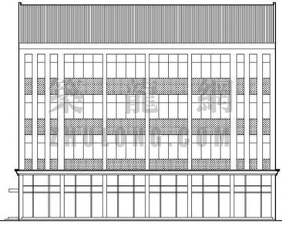 某厂房车间建筑施工图(全套含结构)