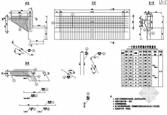 20m预应力钢筋混凝土空心板简支梁成套cad设计图纸