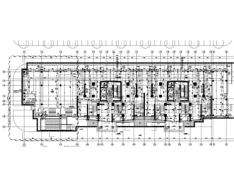 [辽宁]超高层世贸商业住宅多栋建筑给排水消防施工图(含机房)