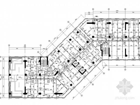 [江苏]高层综合体给排水消防施工图(太阳能热水系统 喷淋系统)