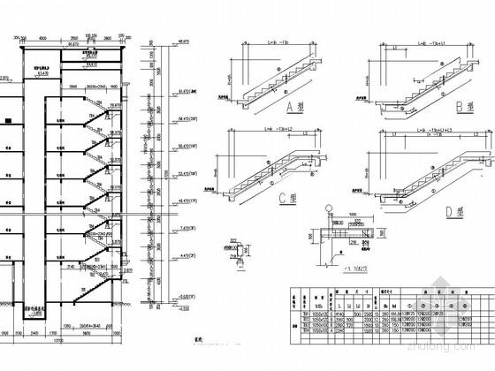 [湖南]20层框架剪力墙住宅结构施工图
