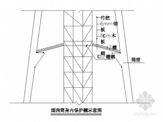 [安徽]工业工程烟囱施工方案(多图)