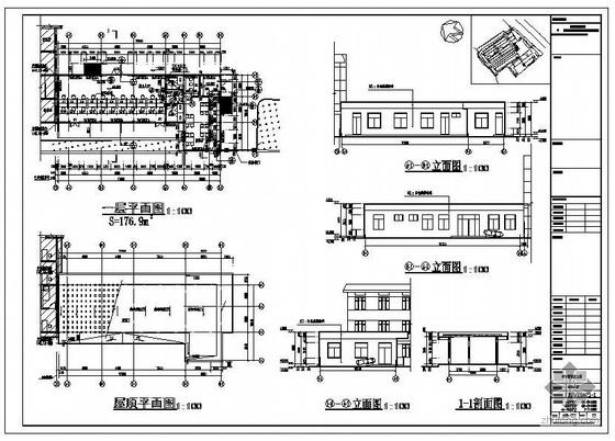 某市看守所改建工程建筑结构设计图