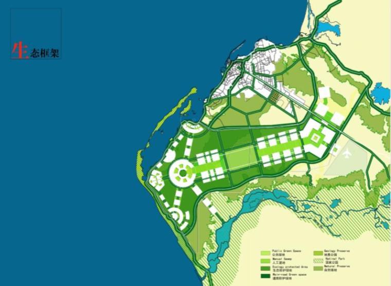 安哥拉罗安达知名地产规划设计方案-生态构想