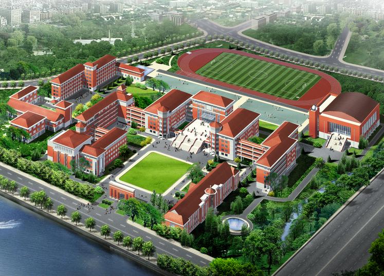 [江苏]无锡第一中学校园规划及建筑设计方案文本