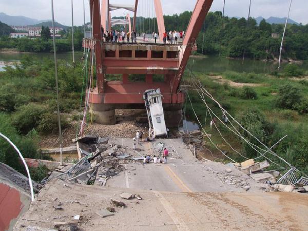 桥梁工程安全事故案例及教训(43页)