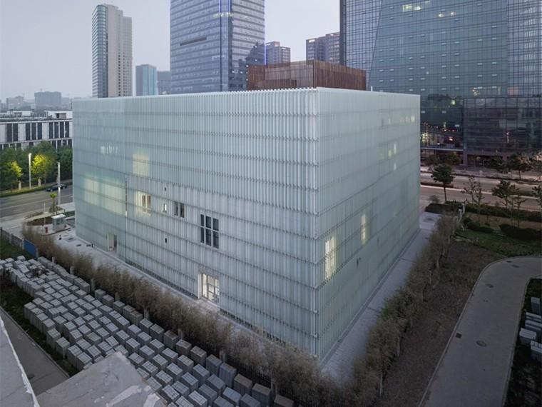 郑州郑东新区城市规划展览馆