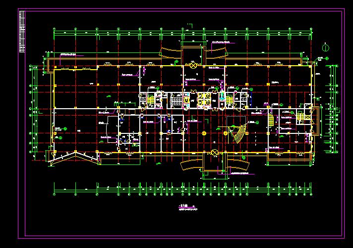 某酒店式办公CAD平面图