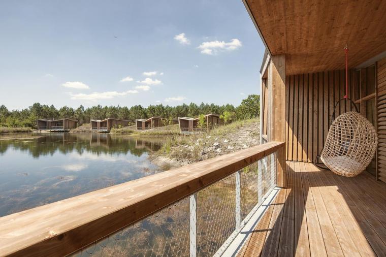 法国风景如画的生态酒店-10