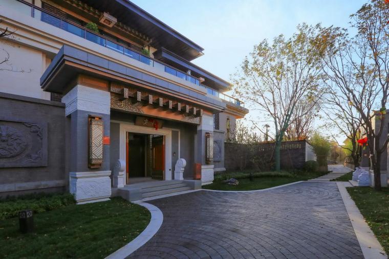 泰禾院子,中式别墅庭院设计精品之作